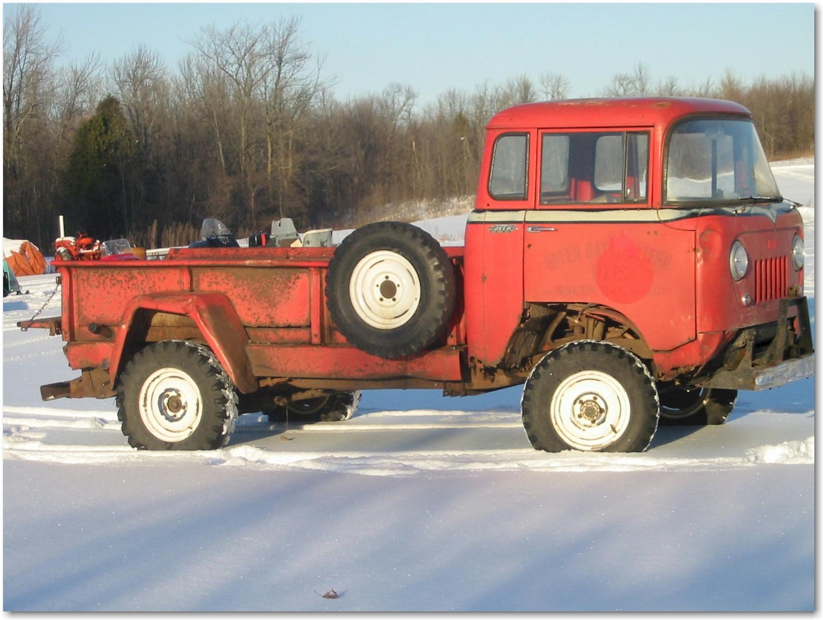 Jeep FC 170 hi rail